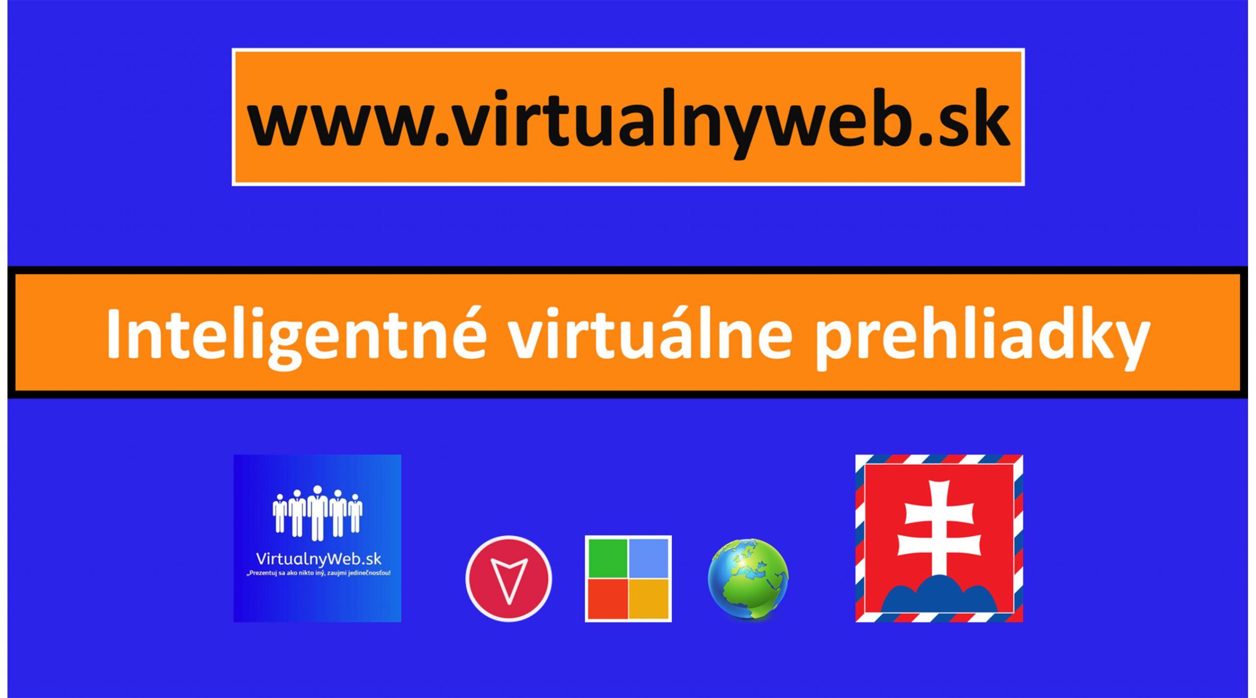 Virtualne prehliadky, virtualne webstranky, virtualna realita